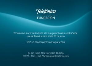 Inauguración de nuevo centro de Fundación Telefónica